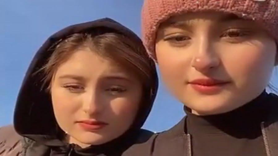 عکس خاص سارا و نیکا با همسر مهدی قائدی ! / آبی یا قرمز؟!