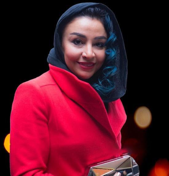 لباس منشوری همسر جواد عزتی حاشیه ساز شد + عکس